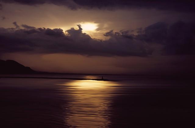l'alba alla baia