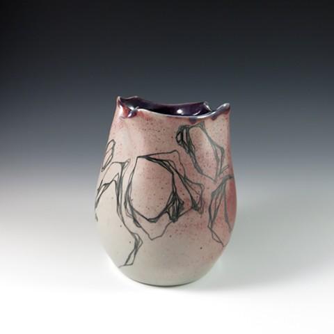 Doodle Vase (alt view)