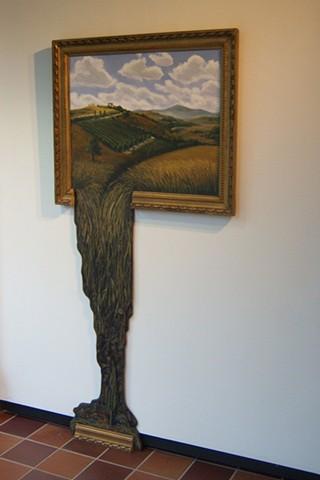 Spilling Landscape