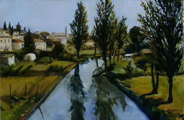 Town River  Private Collection
