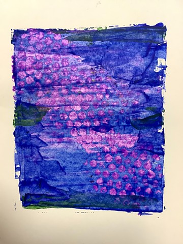 Ultramarine with pink