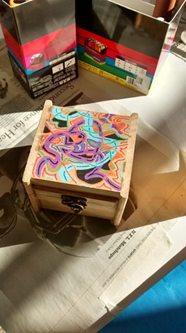 Inspirational Box designed by participant
