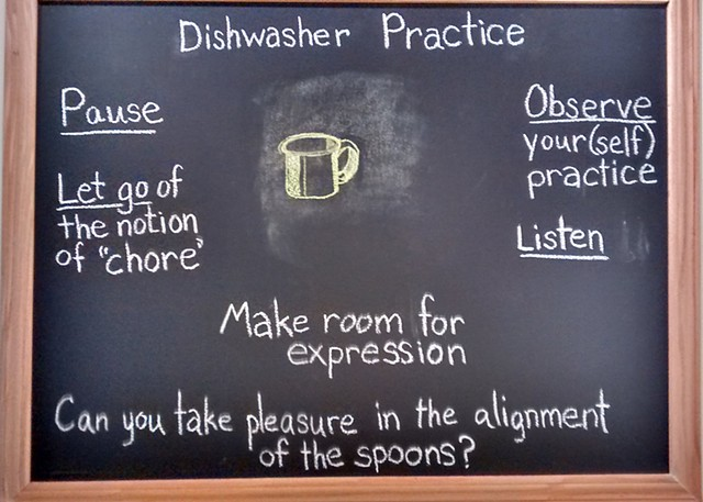 Installation for Dishwasher Practice performance