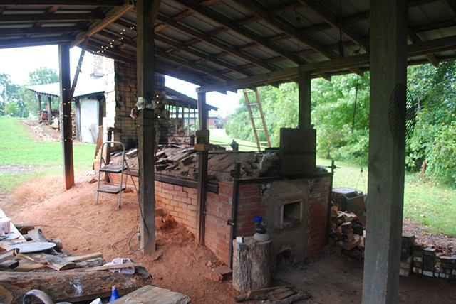 Ground Hog Kiln, North Carolina Pottery Center