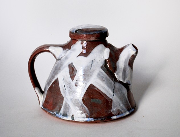 Criss Cross Teapot