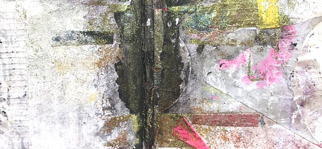 Inner landscape d, from glitter and grime book