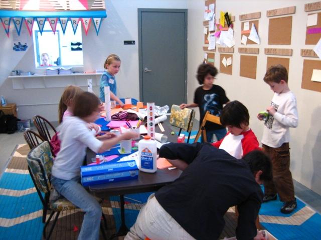 Concourse, Kids Visit Delia Popa's Retrospective