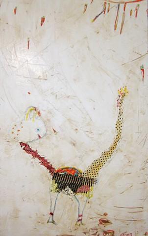 iamtheeggman.abstract painting.watercolor fresco. o*Live.o-Live.oliveland.