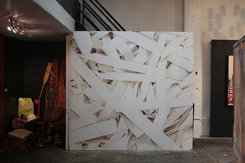 """""""Shredded"""" - Mural Installation"""