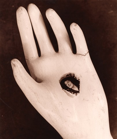Mannequin hand and photo