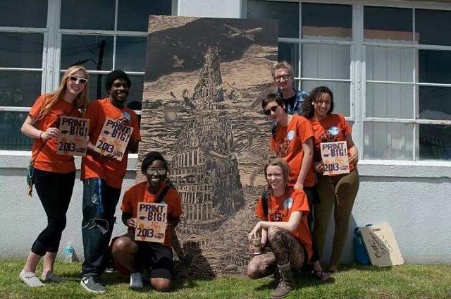 Print Big  GSU Students