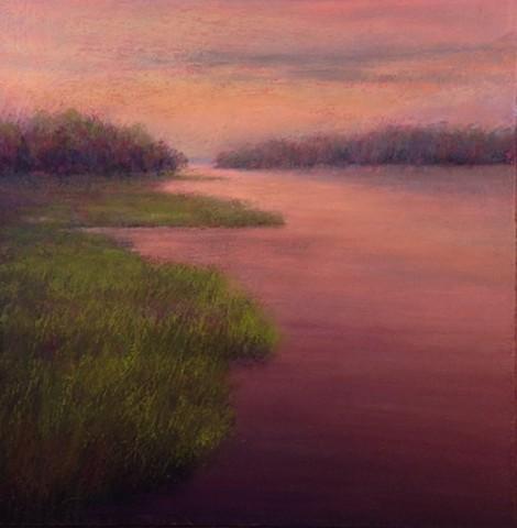 """Marsh Glow"