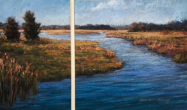 Diytych-Looking Upstream