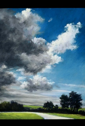 """Afternoon Clouds"""