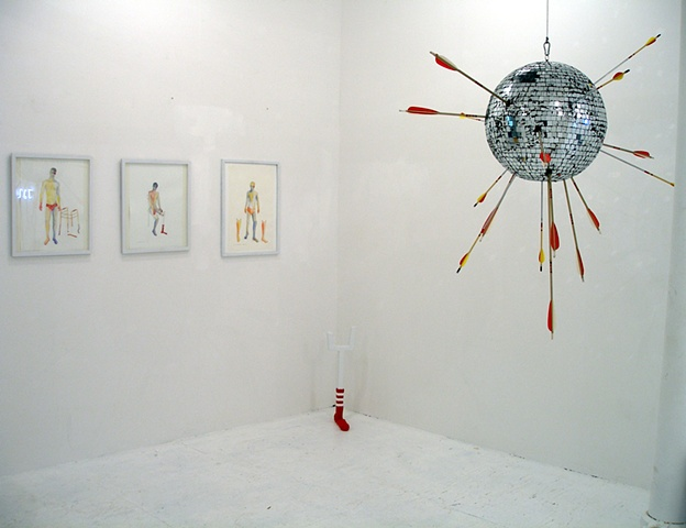 Installation View Julie Keyes Gallery NY