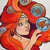 Fish Hair Globes