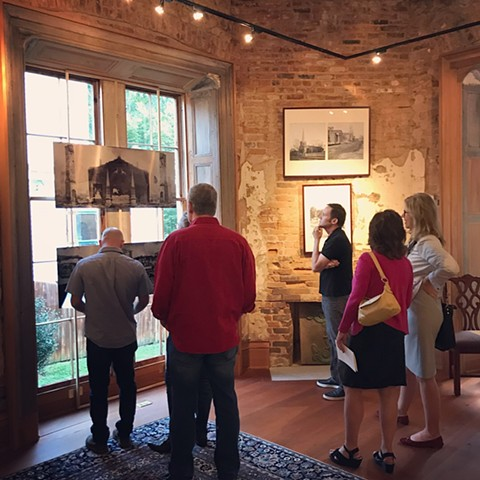 Ritual and Ruin opening, October 5th, 2017; Atlanta Preservation Center at The Grant Mansion.