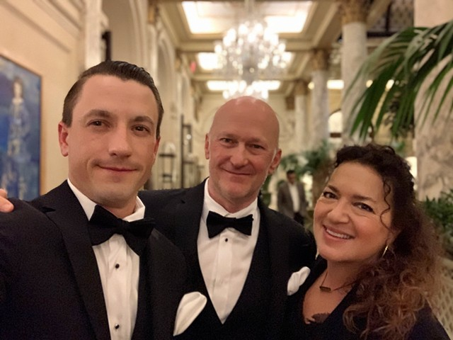 Lucie Awards, Carnegie Hall, New York; pre ceremony drinks at The Plaza Hotel. October