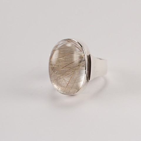 Rutilated Quartz I