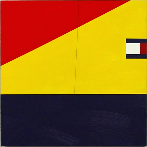 tommy hilfiger primary colors windbreaker painting