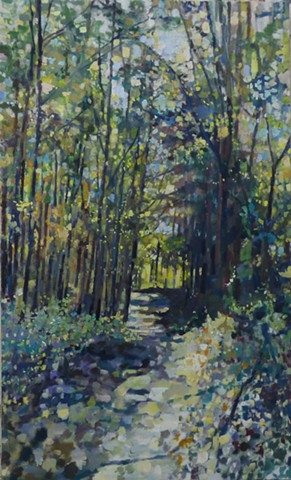 Sunny Wooded Path