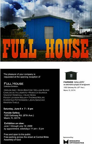 Farside Gallery Group Exhibition Invitation