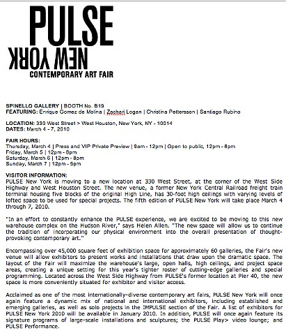 Pulse Fair New York Press Release