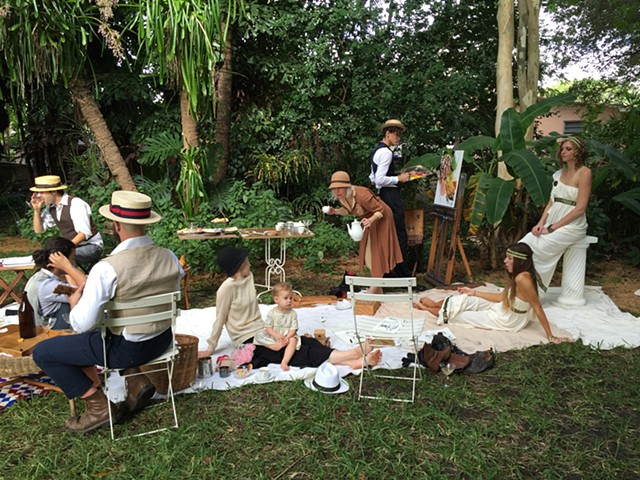 The Colony, en Plein Air Hotbed 2014 at Casa Lin