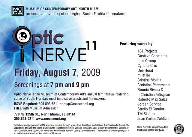 MOCA Optic Nerve Invitation