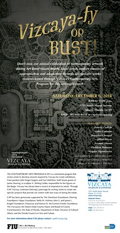 Art Basel Vizcaya Program