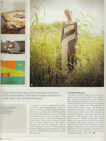 Miami Magazine Feature, Page 2