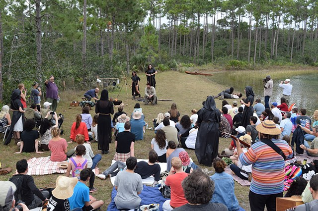 The Furies of the Swamp Centennial Everglades National Park Performance, thru AIRIE's Wild Culture Sundays in the Park Program.