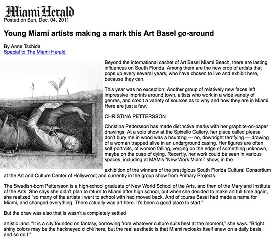Art Basel Miami Herald Feature