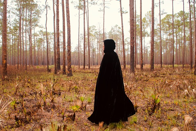 Publicity Photo at Olustee Battlefield, Florida