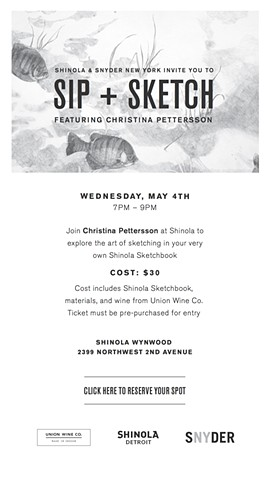 Shinola Art Event Invitation
