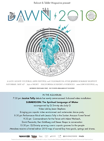 Poster for DAWN Triennial 2010