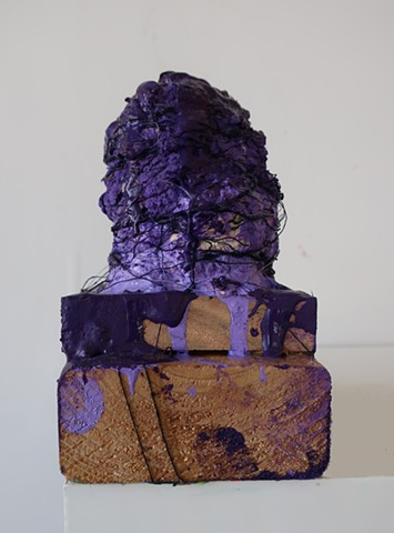 Untitled (Purple Puss)