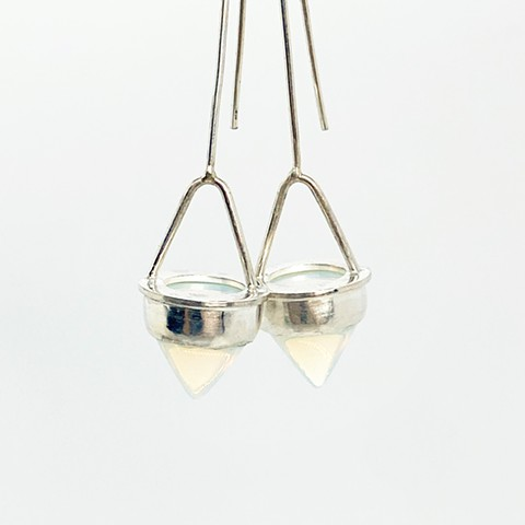 Opalite Cone Earrings