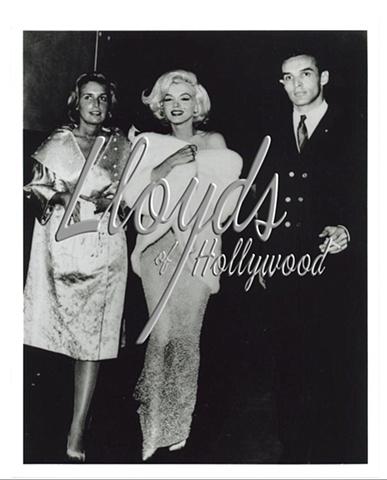 MARILYN MONROE MILLION $$ NUDE DRESS JFK PARTY PHOTOGRAPH  1962