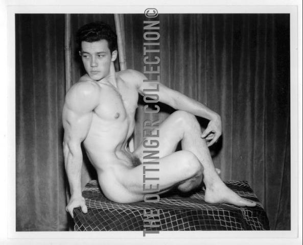 JIM PARK BEEFCAKE PHYSIQUE MALE NUDE 1949
