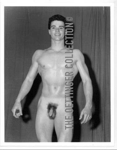 GLENN BISHOP BEEFCAKE PHYSIQUE ICON  FULL FRONTAL NUDE