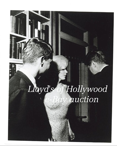 MARILYN MONROE RFK & JFK BIRTHDAY PARTY SECRETS PHOTOGRAPH 1962