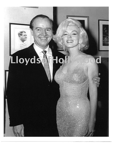 MARILYN MONROE WEARING NUDE DRESS JFK BIRTHDAY PHOTOGRAPH