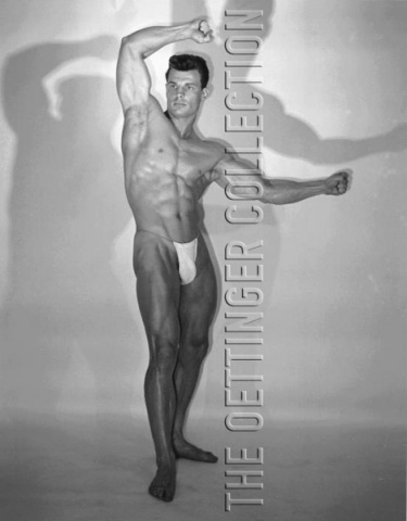 GEORGE O'MARA ATHLETIC BEEFCAKE MUSCLE HUNK PHOTOGRAPH
