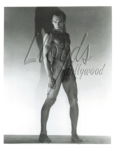 YUL BRYNNER BEEFCAKE NUDE PHOTOGRAPH PRE HOLLYWOOD 1942