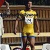 BJORN BARREFORS OLYMPIC SWEDEN BEEFCAKE HUNK BULGE DECATHLETE PHOTOGRAPH