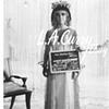 ELIZABETH TAYLOR  CLEOPATRA ON SET COSTUME TEST PHOTOGRAPH 1962