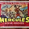 STEVE REEVES HERCULES ORIGINAL USA MOVIE POSTER HALF SHEET 1959