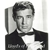 GUY MADISON HANDSOME HUNK IN BLACK TIE  PHOTOGRAPH 1945