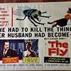 THE FLY ORIGINAL USA HALF SHEET MOVIE POSTER SCI FI 1958